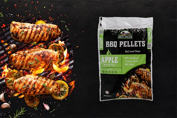 Apple BBQ Pellets