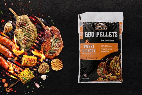 Sweet Hickory BBQ Pellets